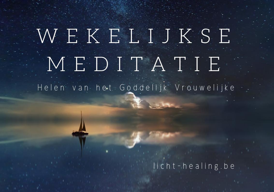 Elke donderdag doen we een gratis meditatie die jouw Vrouw en Man Binnenin weer in balans brengt. Gewoon proberen, je wordt er altijd lichter van.