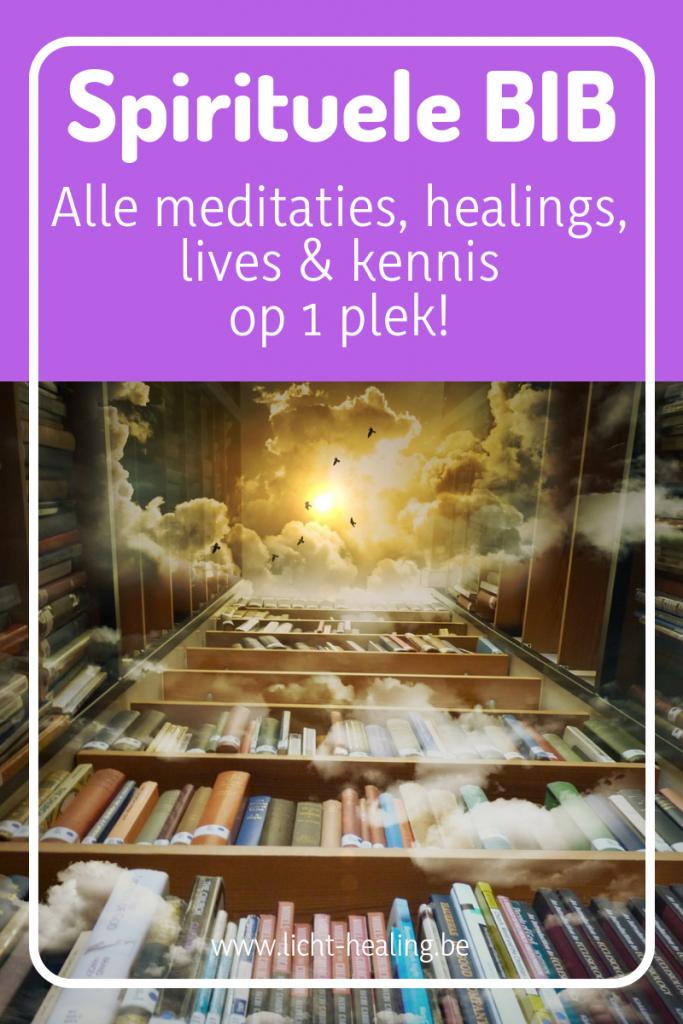 De spirituele bibliotheek van licht-healing beval alle meditaties, healings en kennis op één plek. Onverschenen materiaal en zoveel meer, gebundeld in een handige bib.