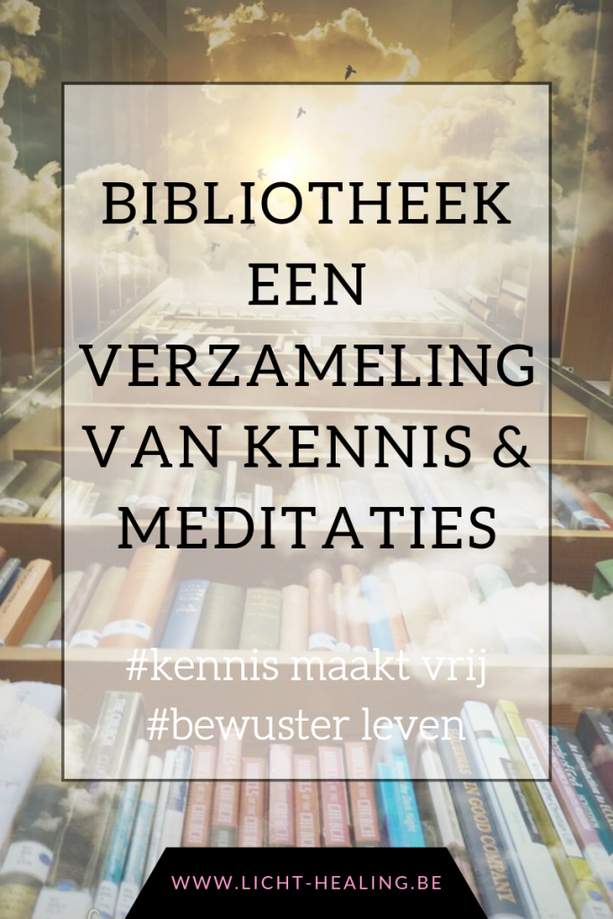 De bibliotheek is een verzameling van alle meditaties, kennis video's en oude programma's van licht healing. Een ware schat aan informatie die jij ten alle tijden kan raadplegen.