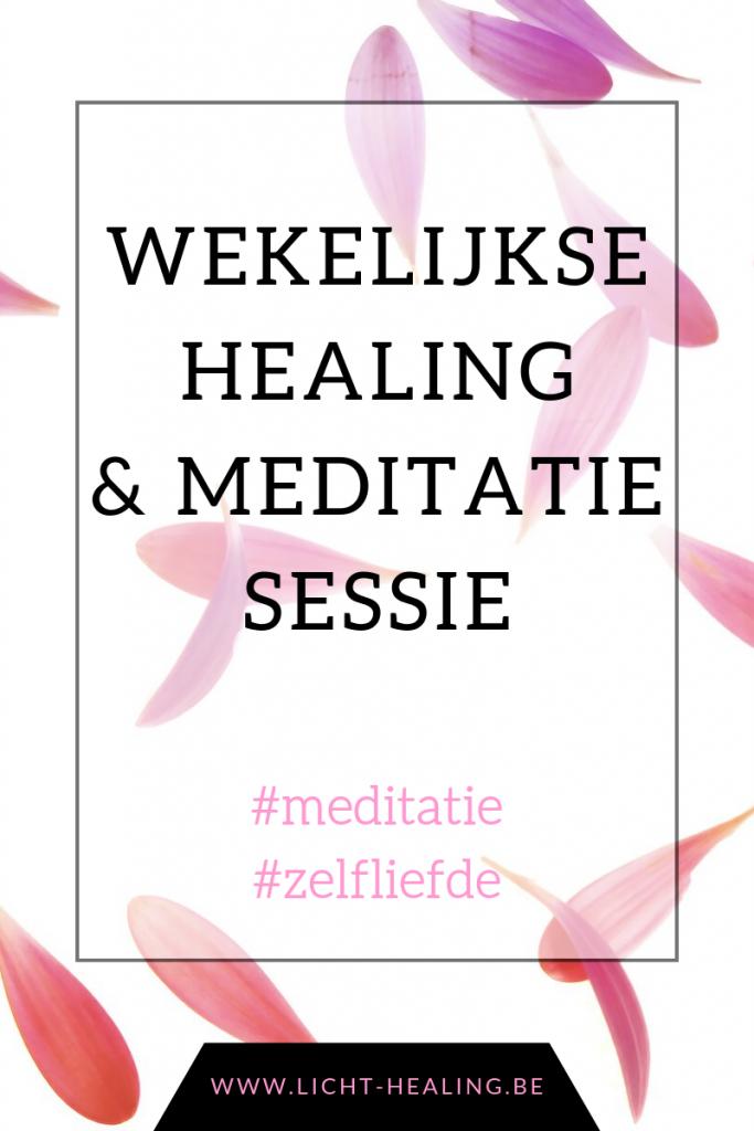 De wekelijkse meditatie leert jou om te verbinden met jouw kern, jouw ziel. Iedereen kan dit en het heelt jouw energie, jouw lichaam en jouw denken.