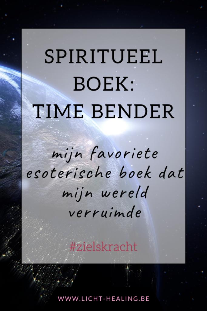 Op zoek naar een geweldig esoterisch boek dat jou uitlegt hoe jij in mekaar zit? Time bender is een prachtig verhaal dat super vlot wegleest en absoluut mijn persoonlijke nummer 1. Heb jij het al gelezen?