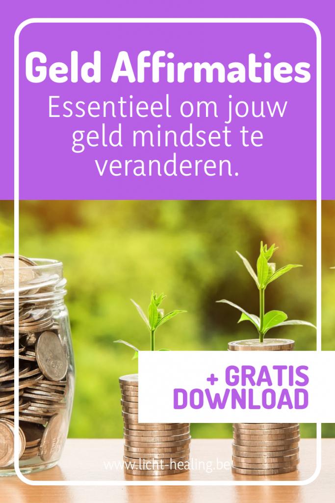 Geld affirmaties zijn essentieel om jouw geld mindset te veranderen naar een positieve geld mindset. Geld affirmaties zijn essentieel.