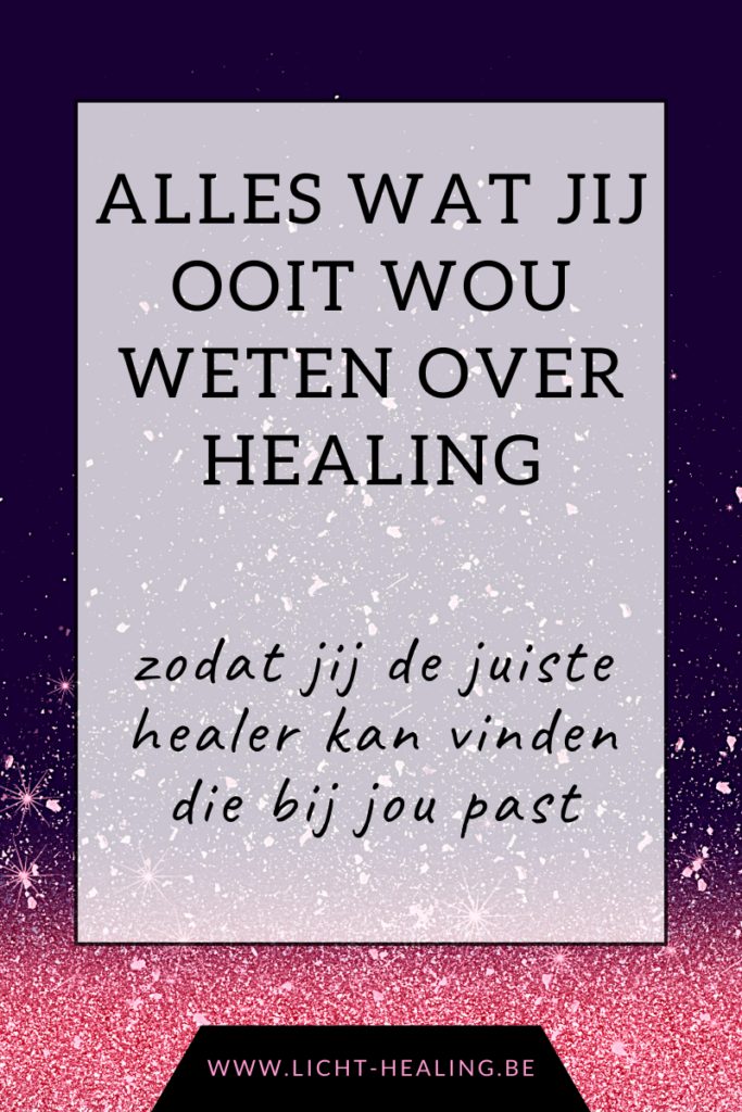 Healing ontkracht. Alles wat jij ooit wou weten over healing zodat jij deftige healers kan aantrekken die jou ook daadwerkelijk helpen. Healing is een proces van bewustwording en is een hulpmiddel.