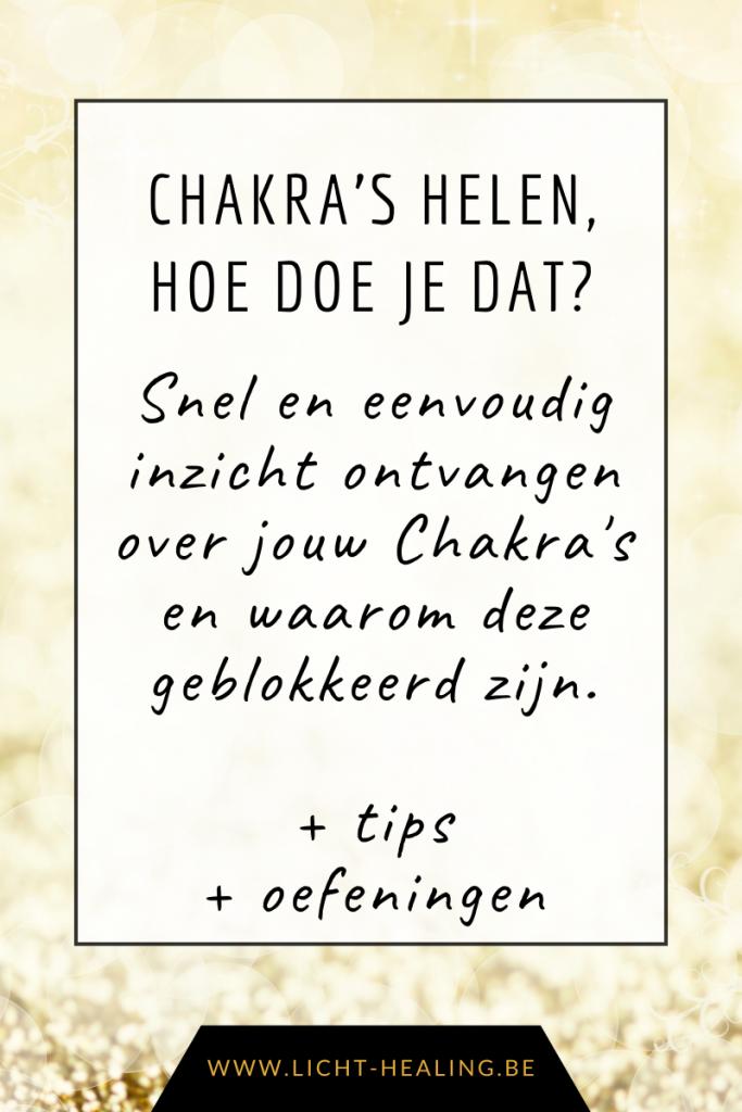 Heel jouw 7 basis chakra's door middel van inzicht en simpele oefeningen en tips. Als jouw chakra's doorstromen, dan is jouw leven gemakkelijker. Laat weerstand los.