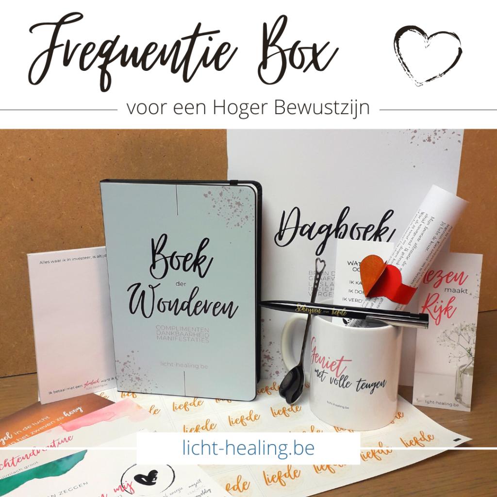 De FrequentieBox helpt jou sneller een hoger bewustzijn te bereiken door jou continue te herinneren aan wie jij bent, waardoor jij sneller vooruit komt in jouw leven.